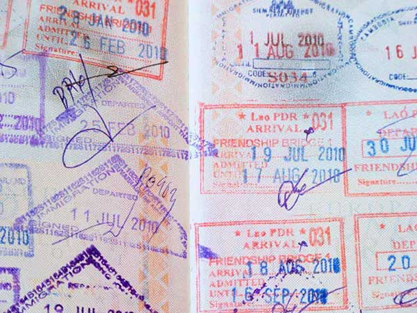 Get your passport stamped at Stamps Backpackers The Best Hostel and Guesthouse in Chiang Mai Thailand